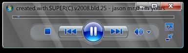 Vista MiniPlayer v1.2